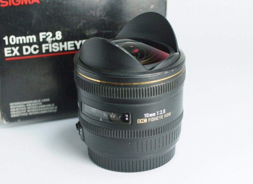 SIGMA 10 mm f/2,8 EX DC HSM Fisheye pro Canon