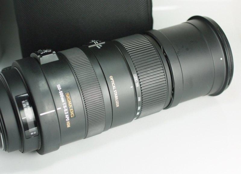 SIGMA 150-500 mm f/5-6,3 APO DG OS HSM pro SONY