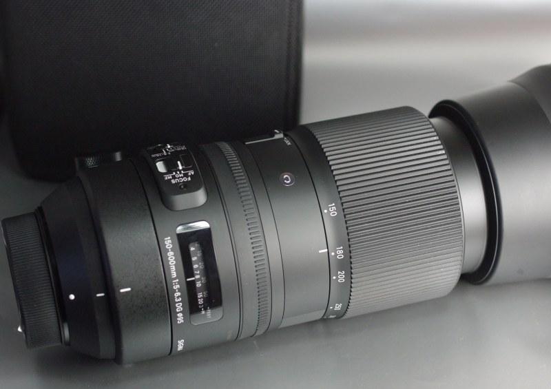 SIGMA 150-600mm f/5-6,3 DG OS HSM Cont. pro NIKON