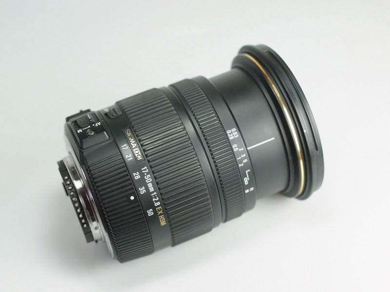 Sigma 17-50 F/2,8 EX DC OS HSM pro NIKON