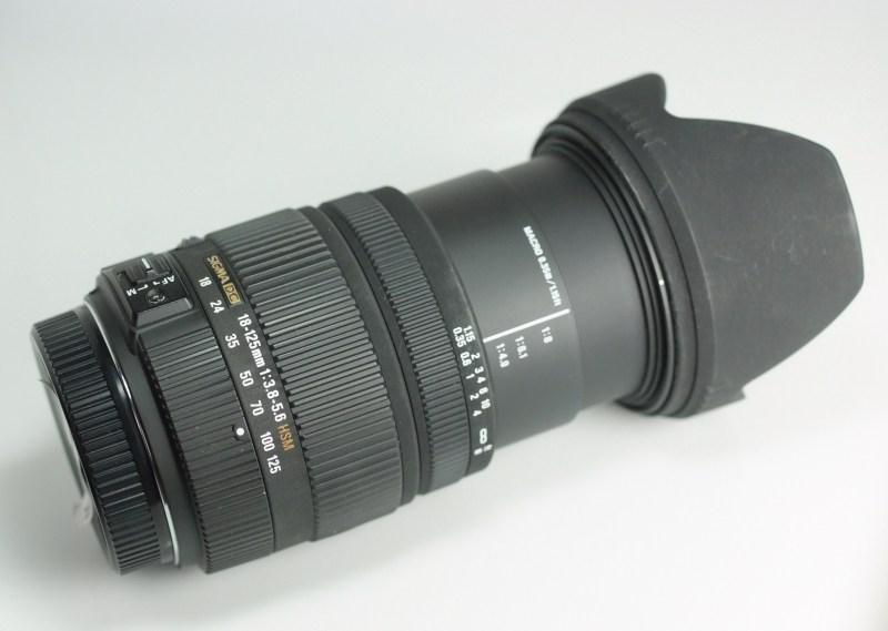 SIGMA 18-125 mm f/3,8-5,6 DC HSM pro SONY