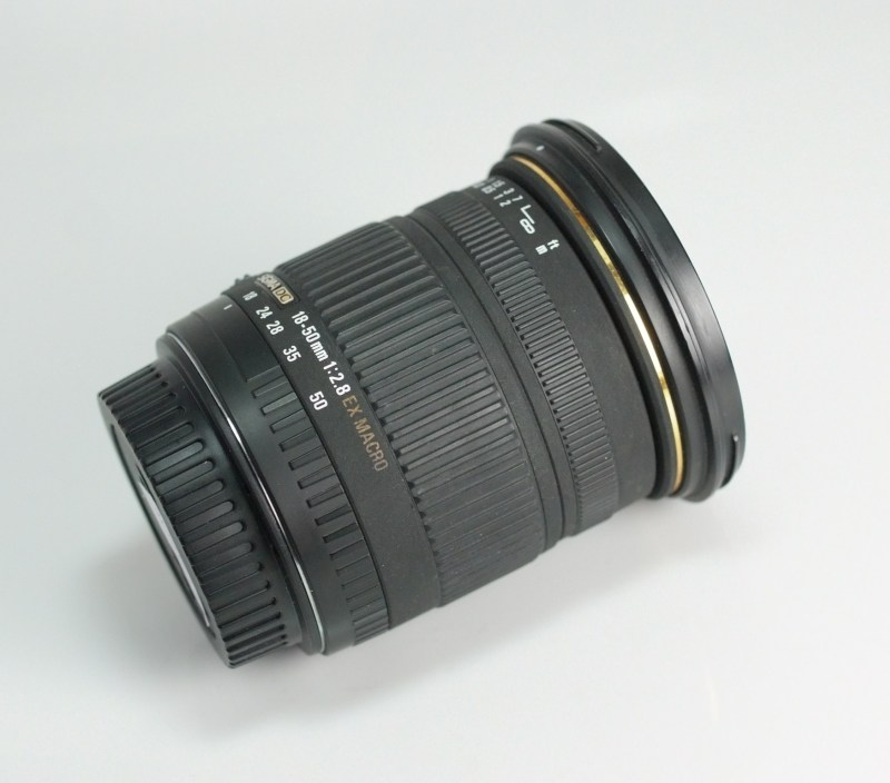 Sigma 18-50 mm F2,8 EX DC Macro pro Canon