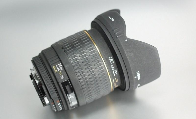 Sigma 24mm f/1.8 EX DG MACRO pro NIKON