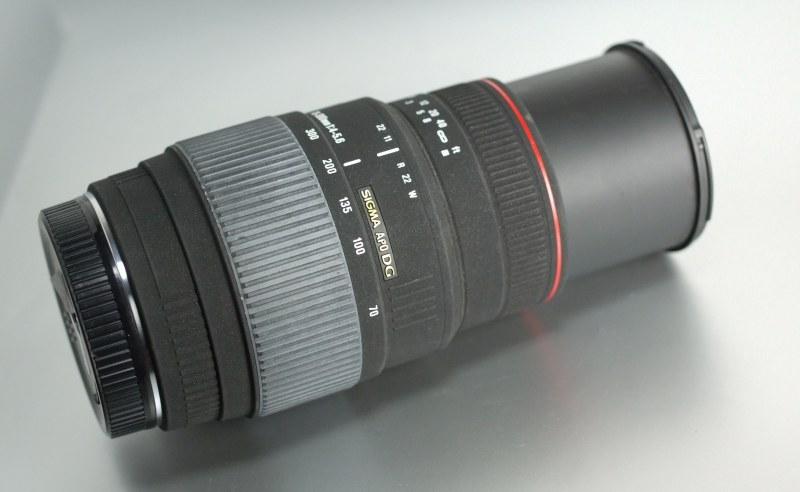Sigma 70-300/4-5.6 DG APO  MACRO pro Canon