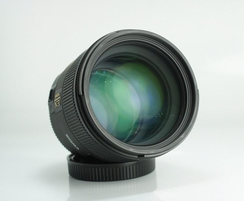 SIGMA 85 mm f/1,4 EX DG HSM pro Canon TOP STAV