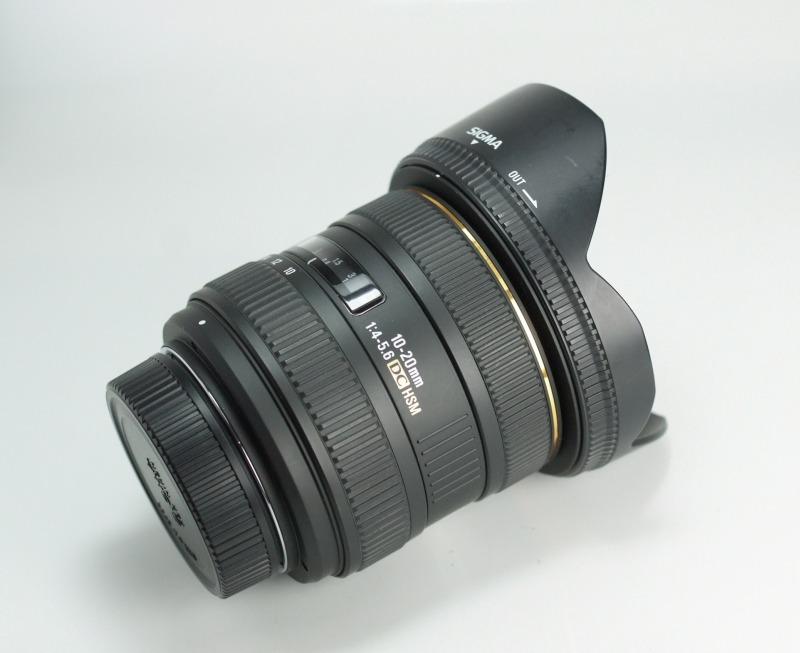 Sigma 10-20/4-5.6 EX DC pro NIKON TOP STAV