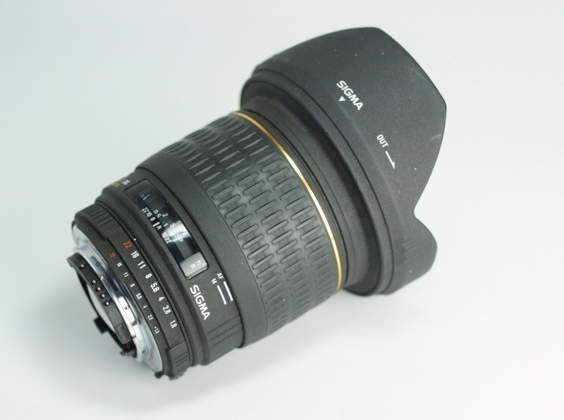 Sigma 20mm f/1.8 EX DG pro NIKON