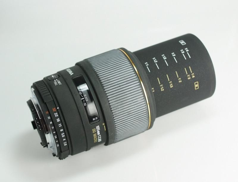 SIGMA 105/2,8 EX DG Macro pro Nikon