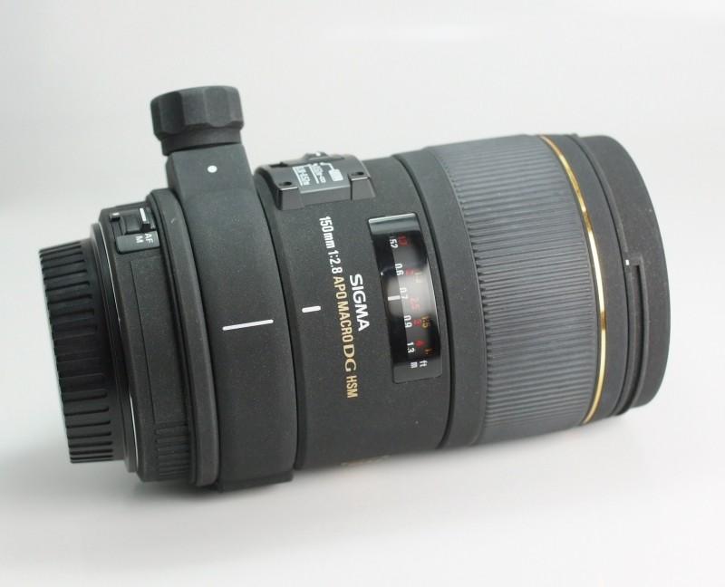 Sigma 150mm F 2,8 EX APO DG HSM pro Canon TOP STAV