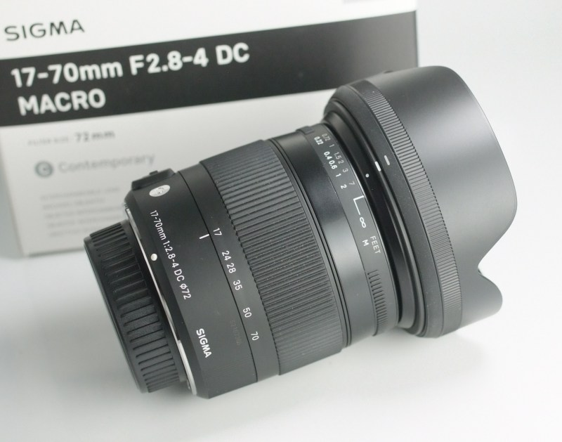 SIGMA 17-70 mm f/2,8-4 DC HSM Contemporary pro Pentax