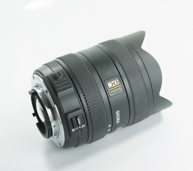SIGMA 8-16 mm f/4,5-5,6 DC HSM pro Nikon