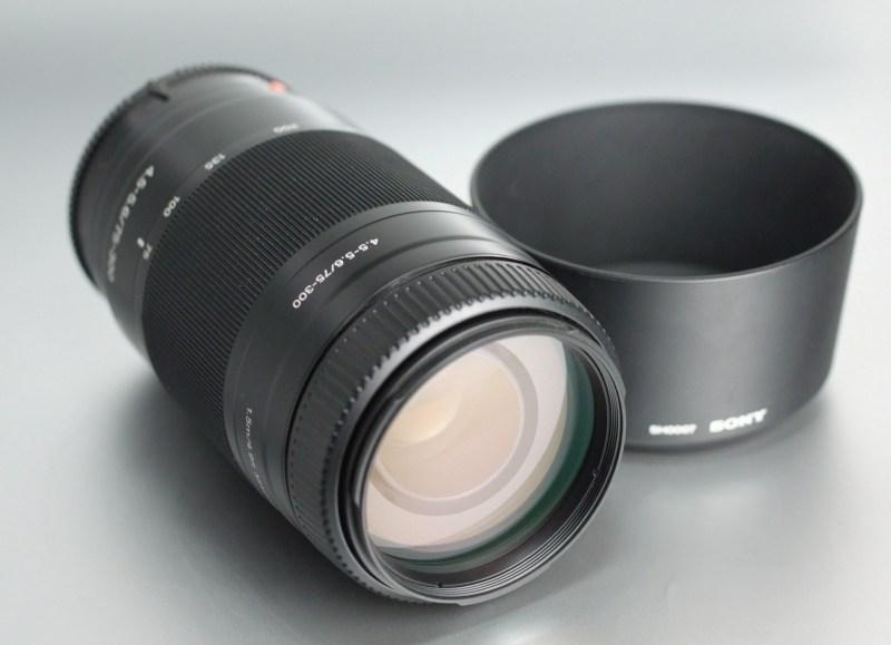 Sony 75-300mm f/4,5-5,6 TOP STAV