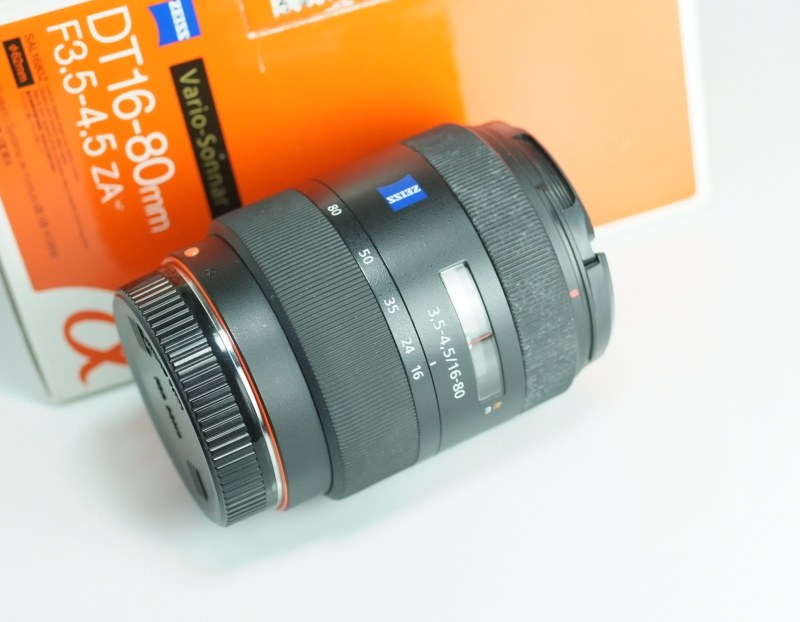 SONY 16-80 mm f/3,5-4,5 DT Carl Zeiss Vario-Sonnar