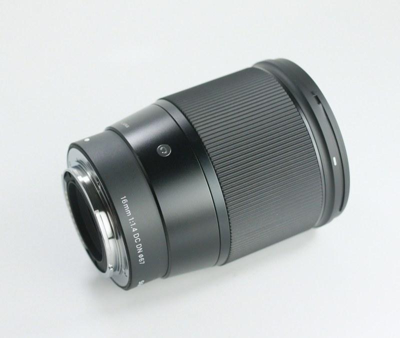 SIGMA 16 mm f/1,4 DC DN Contemporary pro Sony  NEX  TOP STAV