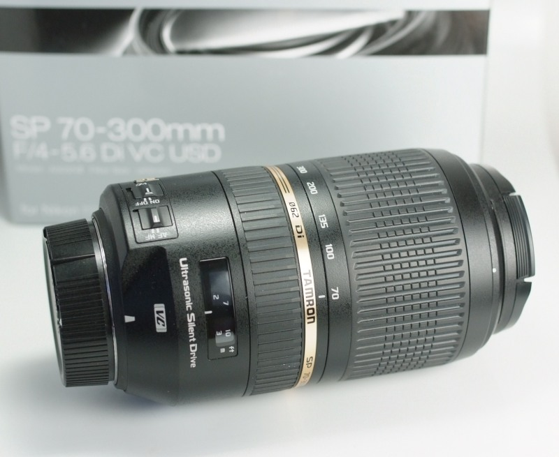 TAMRON 70-300 mm f/4-5,6 SP Di VC USD pro Nikon