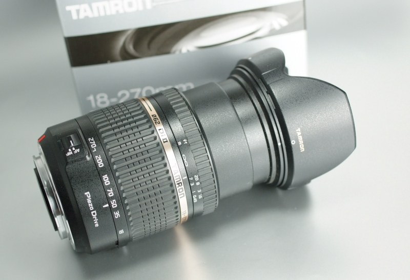 Tamron AF 18-270mm f/3,5-6,3 Di II PZD pro SONY