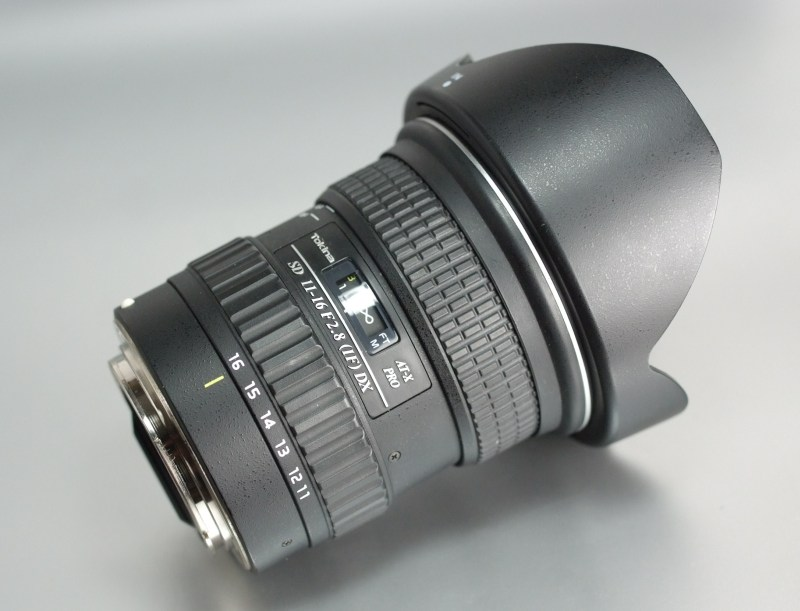 TOKINA 11-16 mm f/2,8 AT-X SD PRO IF DX pro  CANON