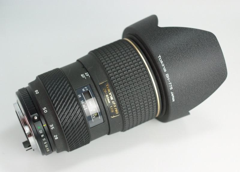 Tokina AT-X 28-80 mm F 2.8 pro PENTAX
