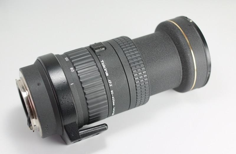Tokina AF 80-400mm f/4,5 - 5,6  pro CANON