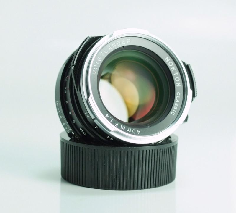 VOIGTLÄNDER 40 mm f/1,4 Nokton classic M.C. pro M-bajonet