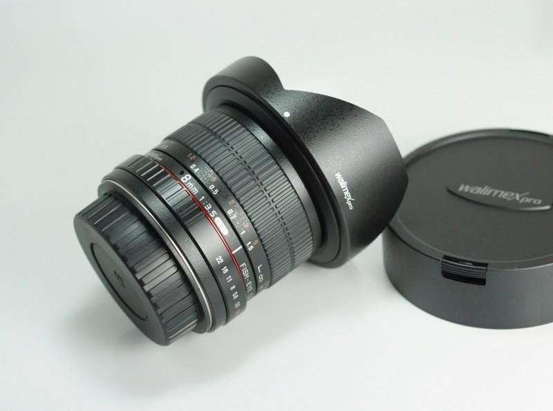 Walimex SAMYANG 8 mm f/3,5 UMC CS II pro Canon