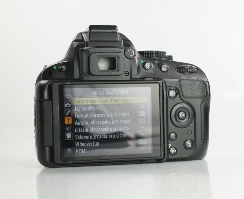 Nikon D5100 SUPER STAV