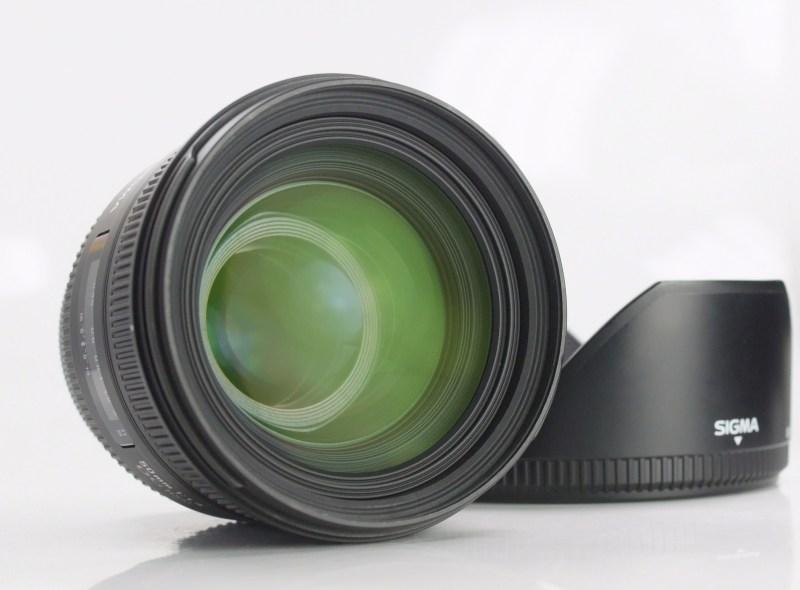 SIGMA 50 mm f/1,4 EX DG HSM pro Canon