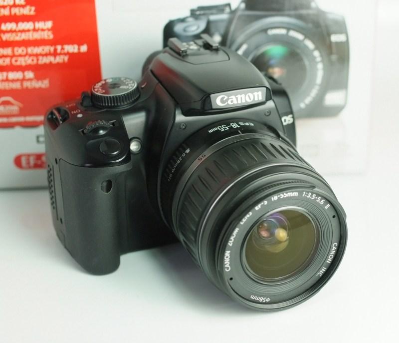 Canon EOS 400D + Canon 18-55mm TOP