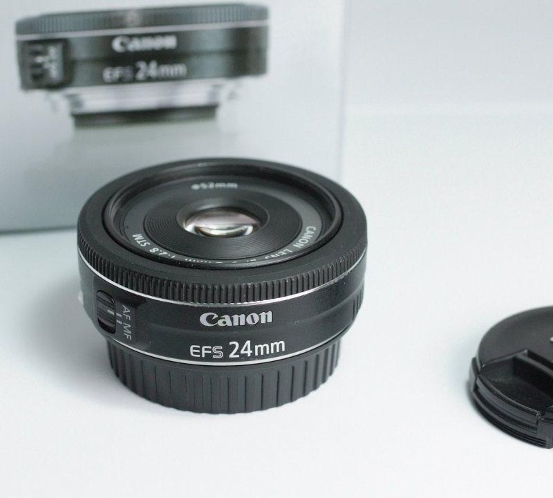 CANON EF-S 24 mm f/2,8 STM záruka 4/2018