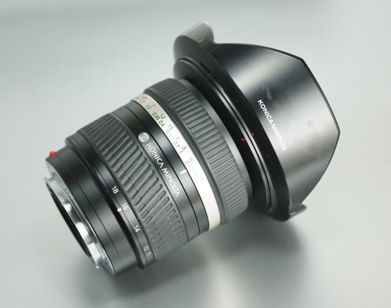 Minolta DT 11-18mm f/4,5-5,6