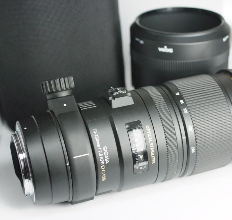 SIGMA 70-200 mm f/2,8 APO EX DG OS HSM pro Canon