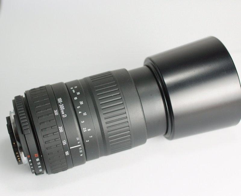 Sigma AF 100-300 mm pro Nikon