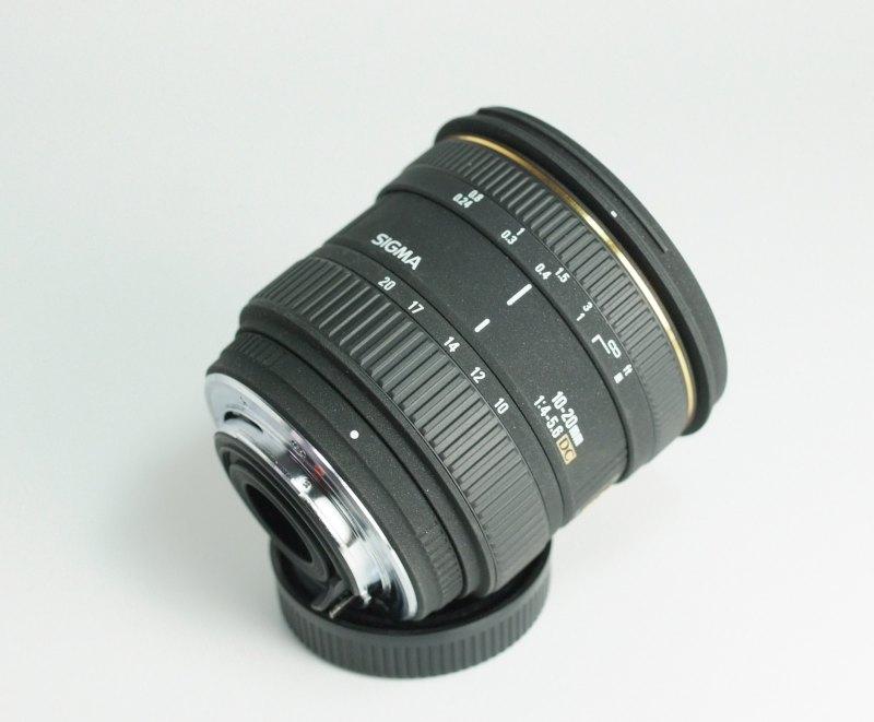 SIGMA 10-20 mm f/4-5.6 EX DC pro Pentax
