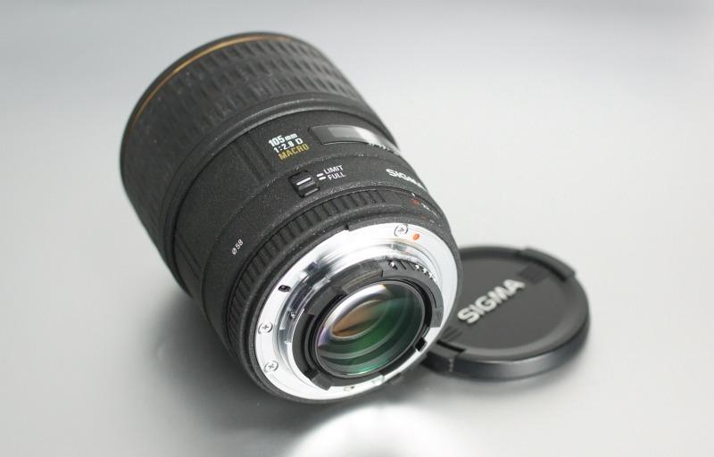 Sigma 105mm F 2,8 EX D MACRO pro Nikon TOP