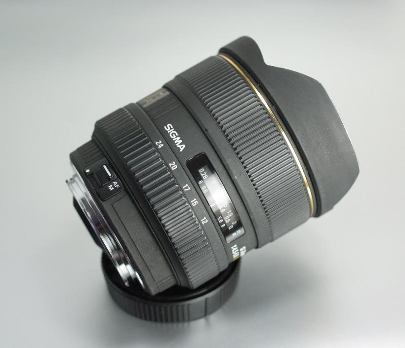 Sigma 12-24mm f/4,5-5,6 DG HSM pro Canon