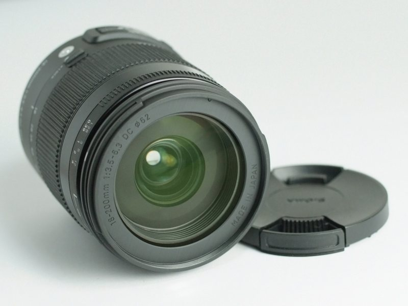 SIGMA 18-200 mm f/3,5-6,3 DC OS HSM pro CANON