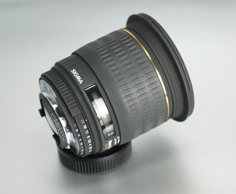 Sigma 20mm f/1,8 EX DG ASPHERICAL RF pro Nikon TOP