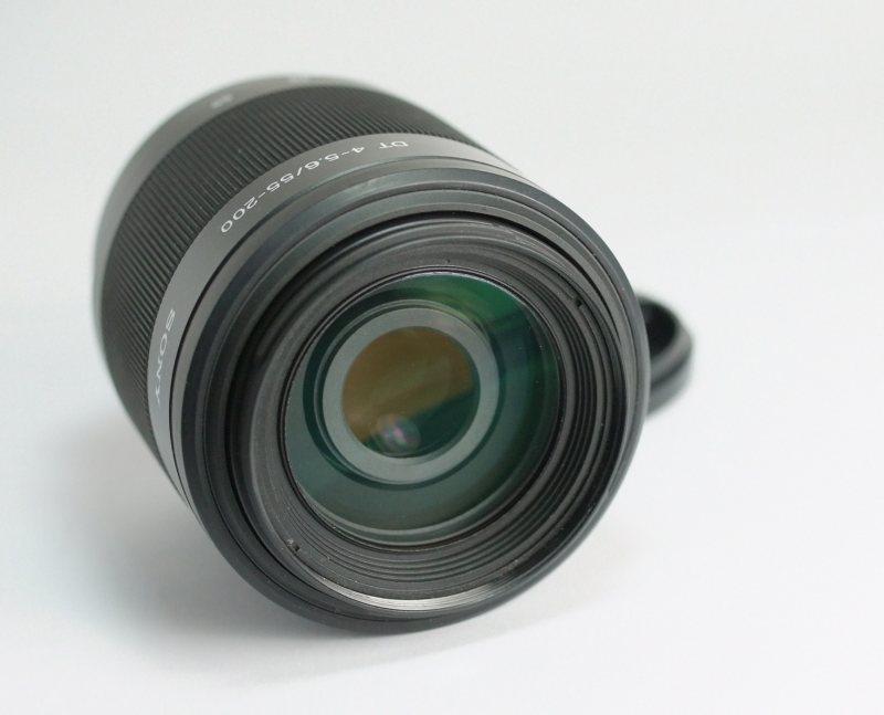 SONY 55-200 mm f/4-5,6 pro bajonet A