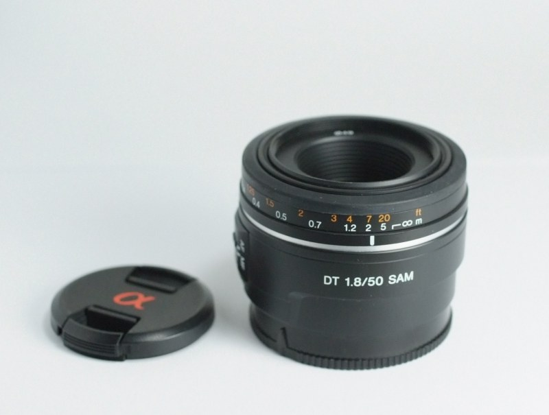 Sony DT 50mm f/1,8 SAM