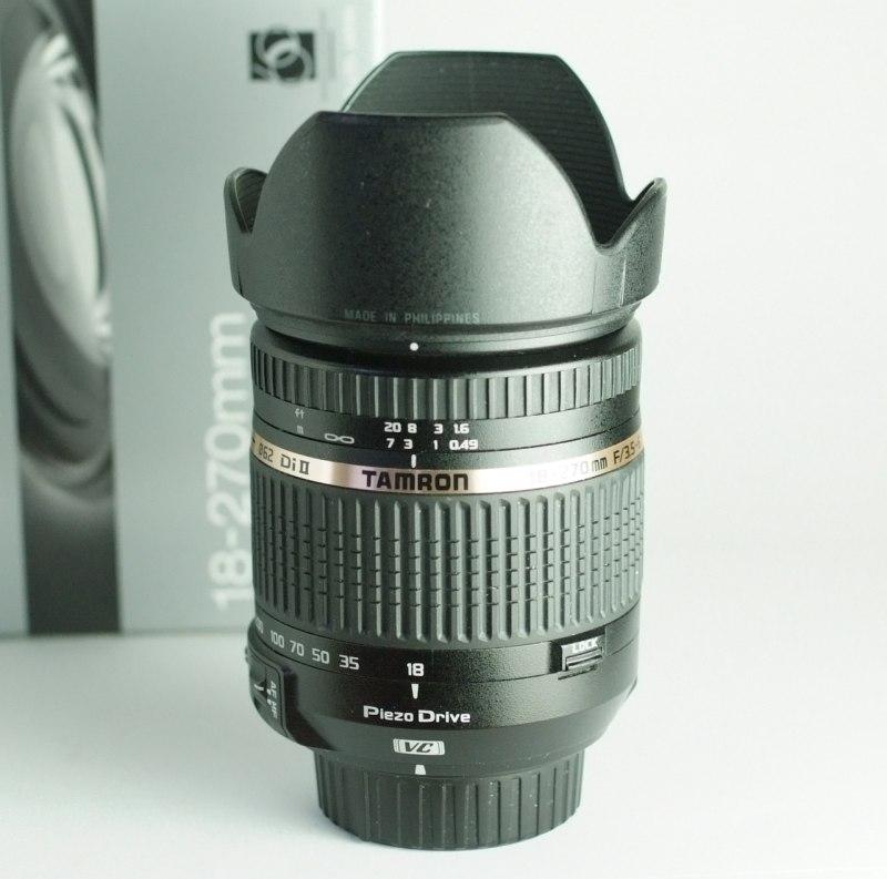 Tamron AF 18-270mm f/3,5-6,3 Di VC PZD pro Nikon