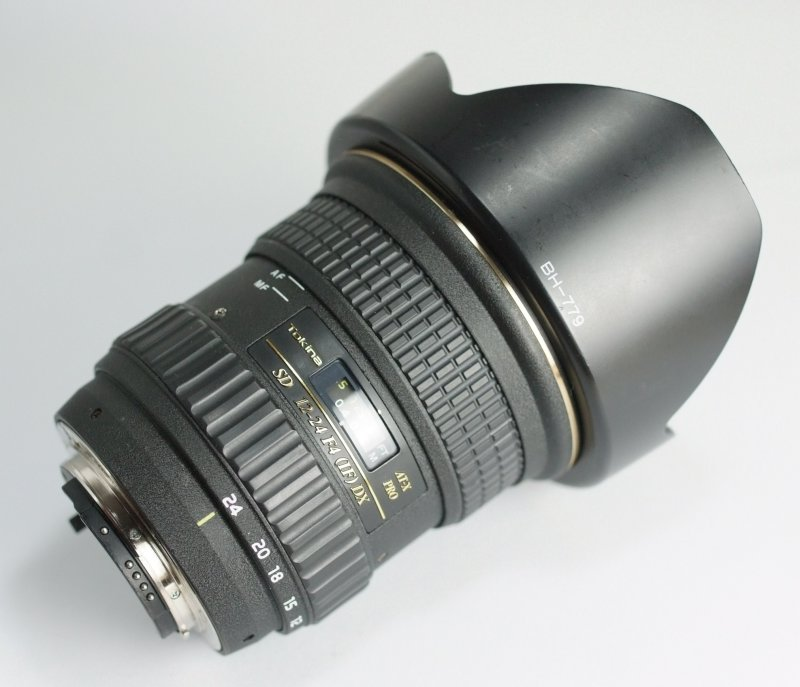 Tokina AT-X 12-24 mm F 4 Pro DX pro Nikon
