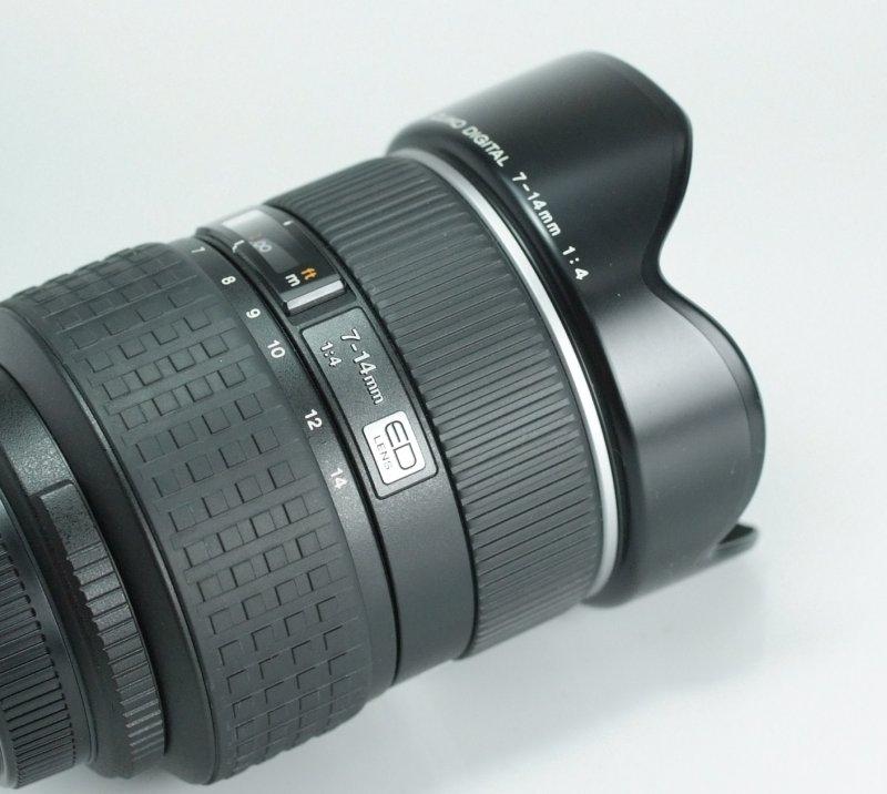 Olympus ZUIKO 7-14mm f/4,0  TOP