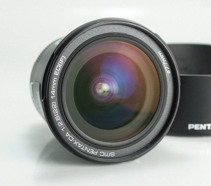 Pentax DA 14 mm F 2,8 ED (IF) TOP