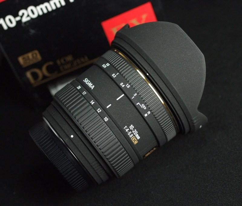 SIGMA 10-20 mm f/4-5.6 EX DC HSM pro Pentax