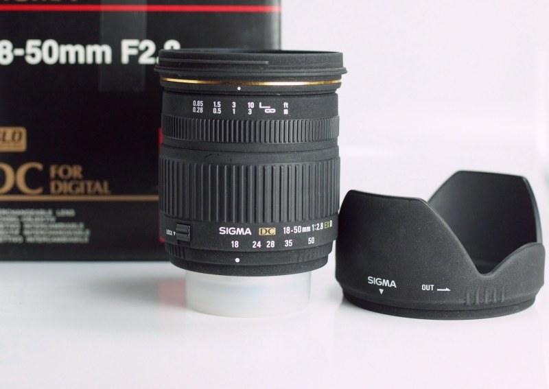Sigma 18-50 /2,8 EX DC pro Nikon