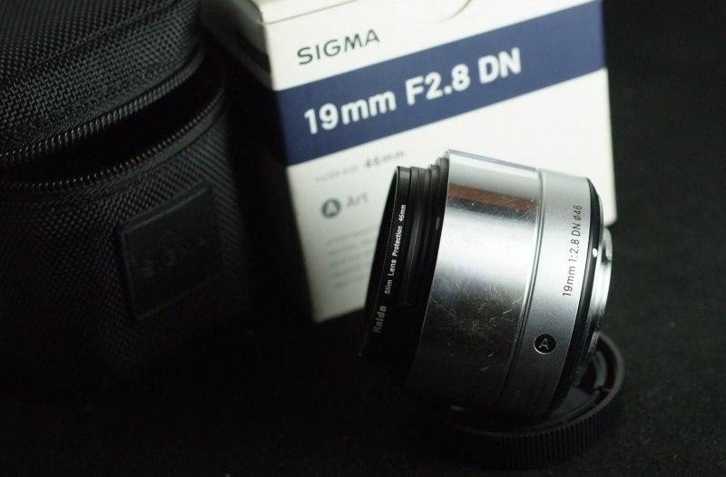 SIGMA 19 mm f/2,8 DN Art černý pro Olympus/Panasonic MFT