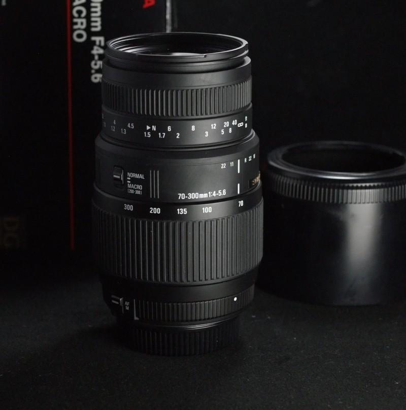 Sigma 70-300/4.0-5.6 DG MACRO pro Nikon