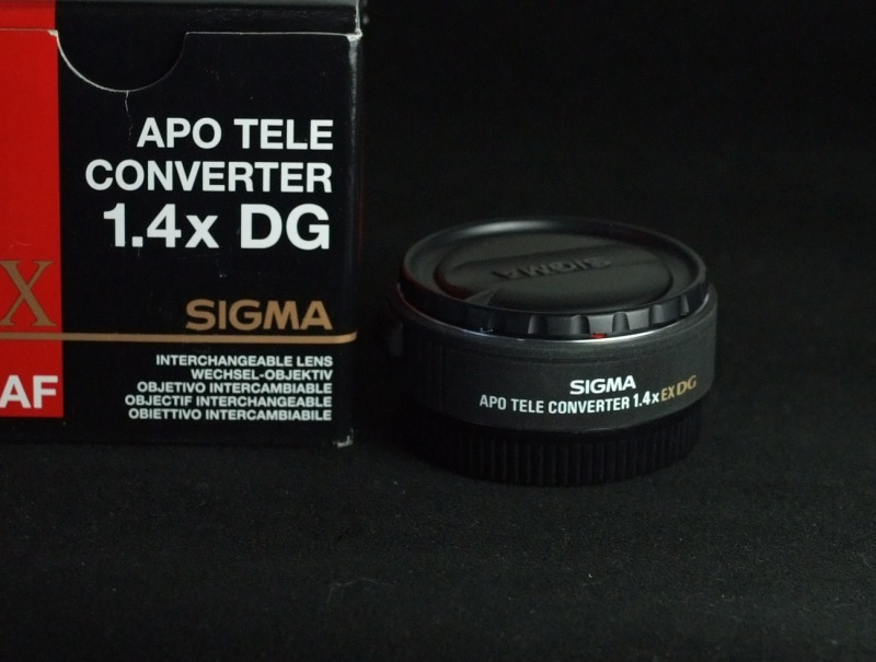 Sigma telekonvertor APO 1,4x EX DG pro Canon