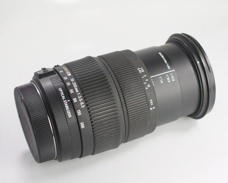 Sigma 18-200 mm F 3,5-6,3 DC OS pro Canon