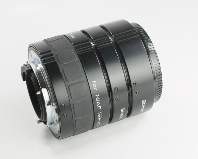 SOLIGOR Mezikroužky set 12/20/36 mm pro NIKON TOP